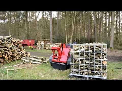 Homemade firewood saw