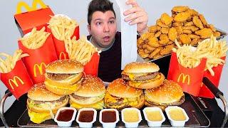 $100 Worth of McDonald's • MUKBANG