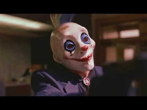 i put spongebob music over the Joker robbing a bank