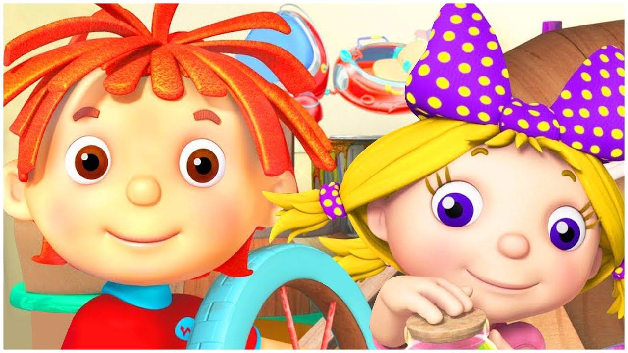 החיוך של רוזי   ילדים קריקטורות   למדו על מיחזור  !ערוץ הופ