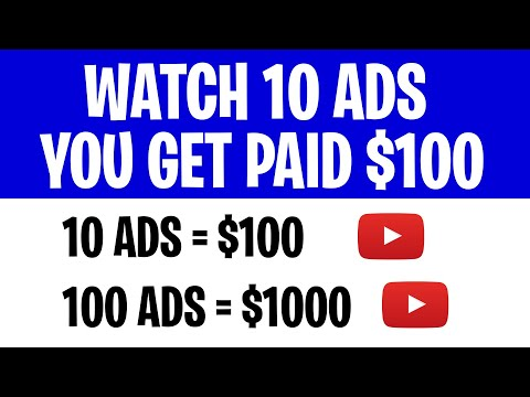 GET PAID TO WATCH ADS ($1000+) | Earn PayPal Money 2021