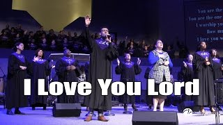 2016 12 04 - I Love You Lord