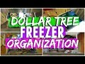 Freezer Organization Dollar Tree Organization mp3
