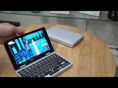 Trên Tay Mini Laptop One Mix 1S Chip Celeron-3965Y/8G/128G SSD Siêu Nhẹ