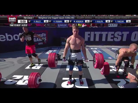 2013 CrossFit Games - Men: Final Heat 3