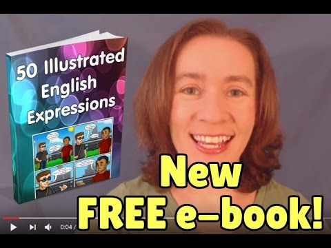 New FREE E-Book: 50 Illustrated English Expressions