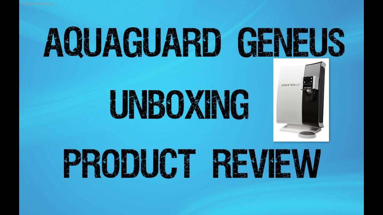 3c43f5ec475 Aquaguard Geneus RO UV UF Water Purifier Unboxing Demo   Review ...