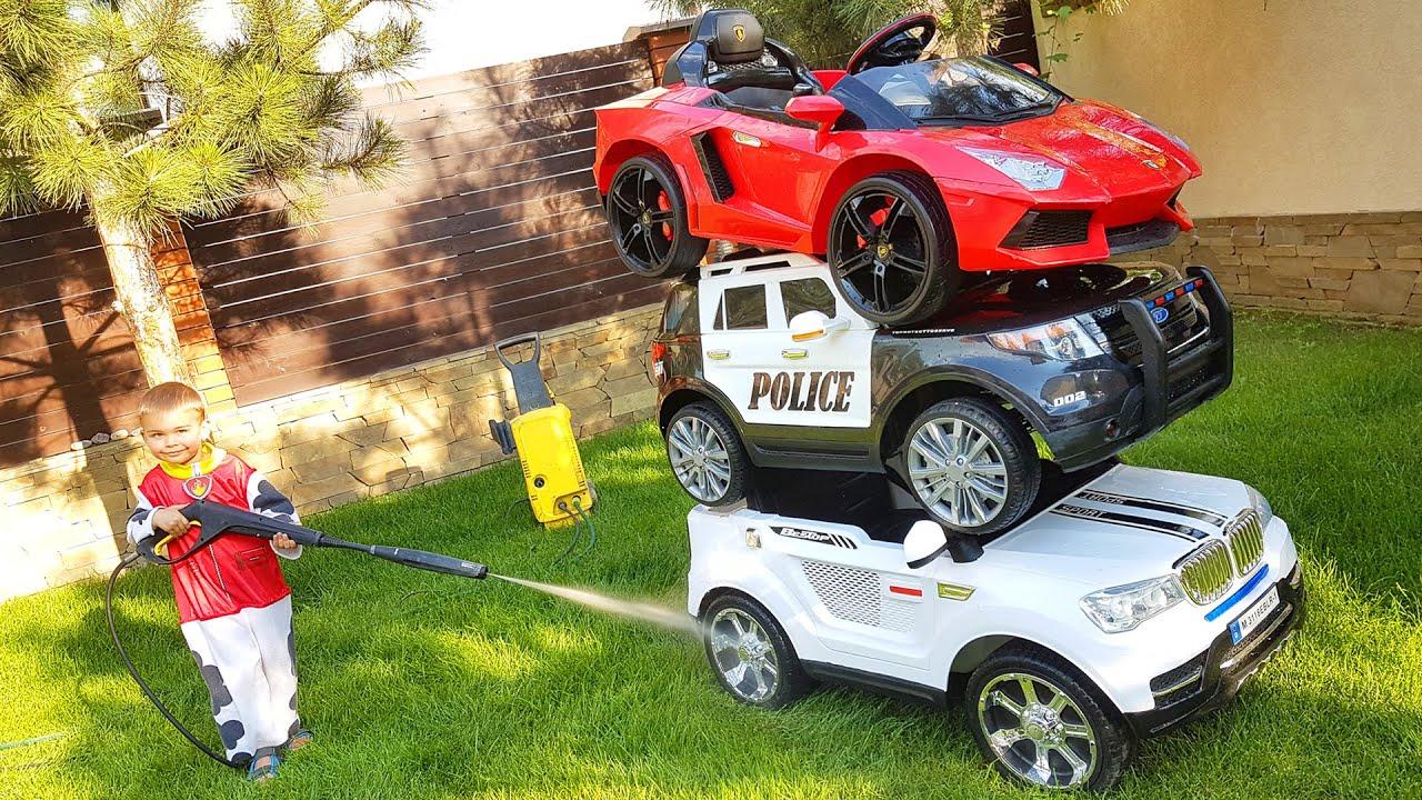 Щенячий патруль вирішив помити своі Тачки / Paw Patrol with his Cars