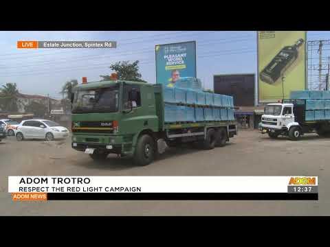Adom Trotro: Respect the red light campaign - Premotobre Kasee (20-9-21)