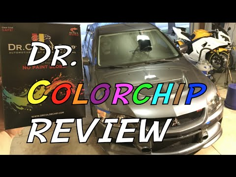 Dr  Colorchip Review & How to Apply - YouTube