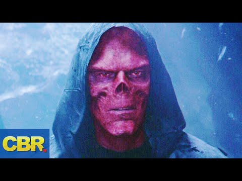 What Nobody Realized About Red Skulls Appearance In Marvels Avengers Infinity War