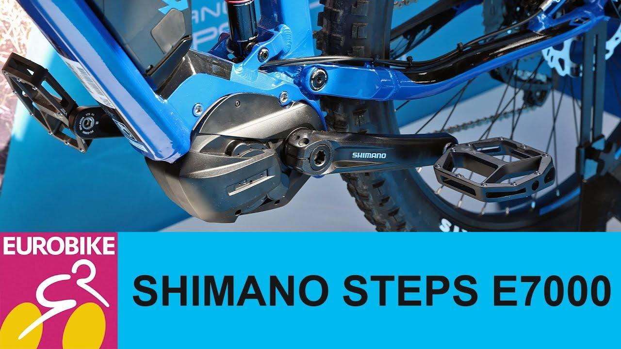 62bdece29bc Shimano Steps E7000 Explained - Eurobike 2018 - YouTube