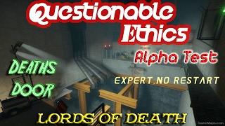 Left 4 Dead 2-QUESTIONABLE ETHICS: Alpha Test -Death's Door Mutation, No Restarts [720p 60fps] (LoD)