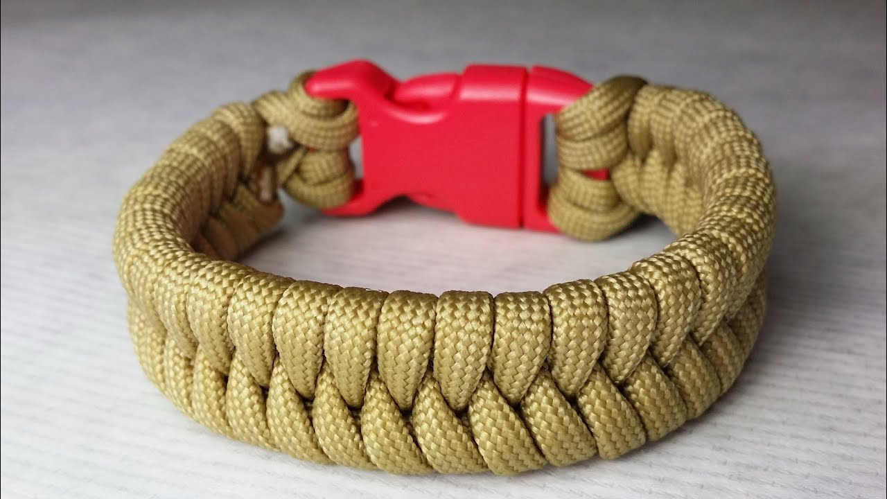 How to make a fishtail paracord bracelet by paracordknots youtube