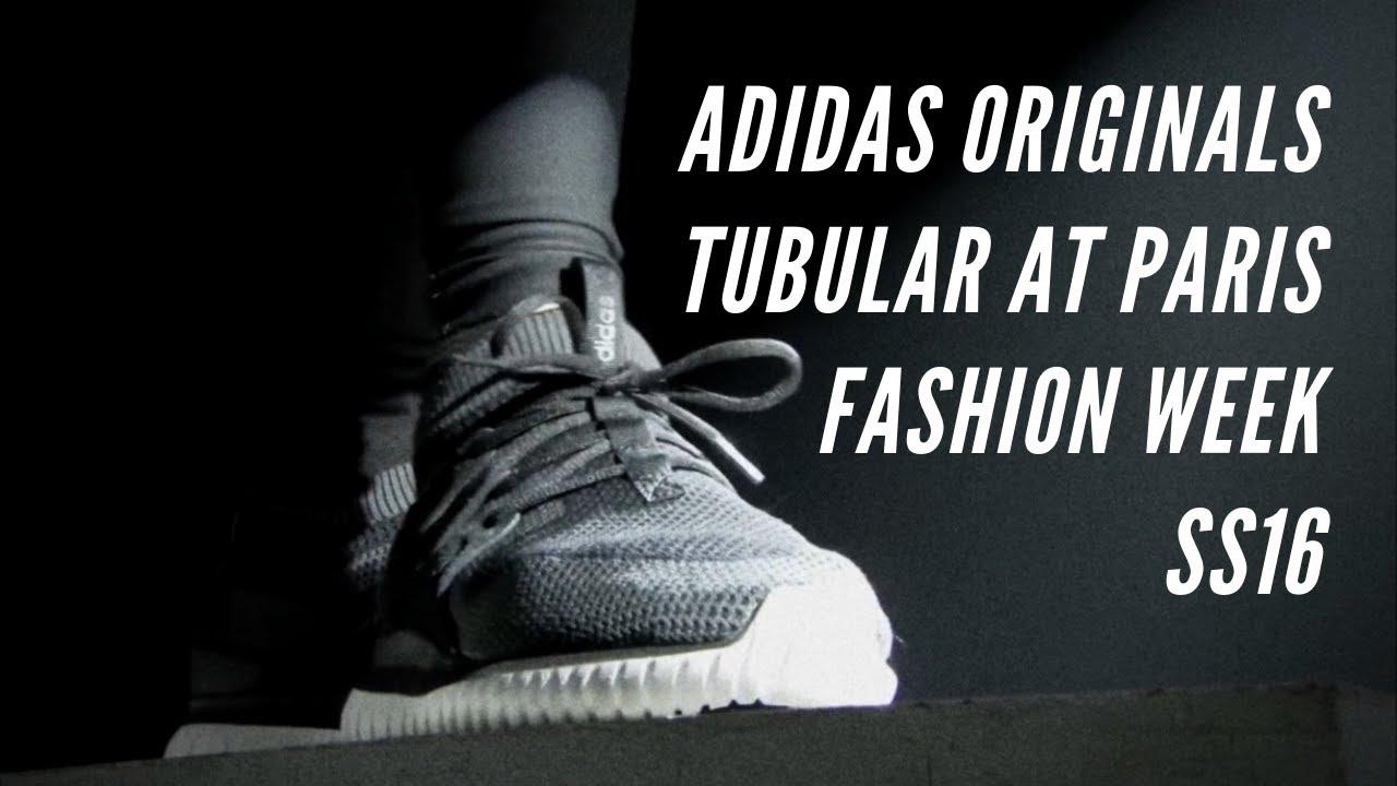 e45cedcfcf6c Adidas Originals - Tubular at Paris Fashion Week SS16 - YouTube
