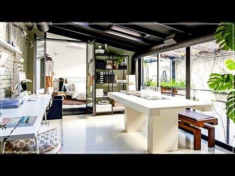 The Sims 4 | Converted Organic Loft Apartment | House Tour!