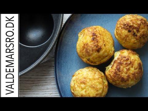 Efterstræbte Kartoffel rösti - lavet super nemt i en æbleskivepande - YouTube AU-53