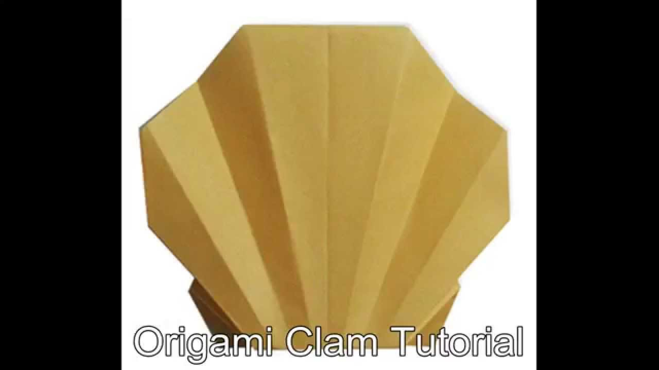 Origami Clam Tutorial