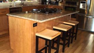 Height Of Kitchen Bar Stools