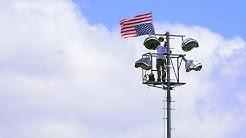Michael Meyer Flies Upside Down Flag From 80ft Light Pole in Surprise Arizona