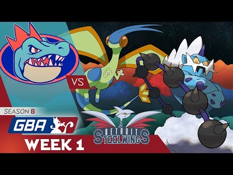 Pokemon GBA S8 Wk1 Wi-Fi Battle: Florida Gatrs vs Detroit Steel Wings