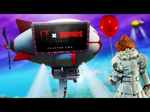 FORTNITE X IT CHAPTER 2 - PennyWise Skin
