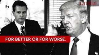 Trump Threatens Enrique Peña Nieto to Send Troops to Mexico