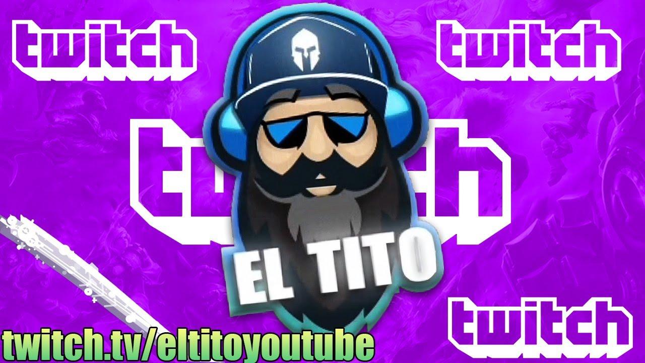🎙 TENEMOS CANAL DE TWITCH Y ESTAIS TODOS INVITADOS https://www.twitch.tv/eltitoyoutube