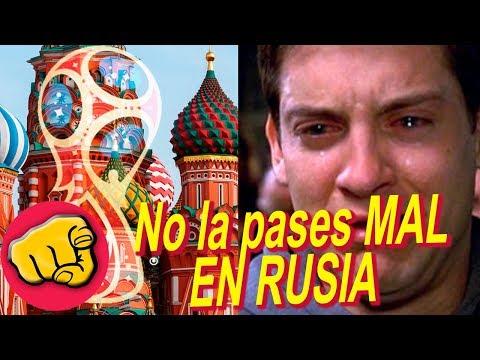 Consejos antes de viajar a RUSIA a ver EL MUNDIAL, COSAS QUE NO DEBES DE HACER (Entérate)