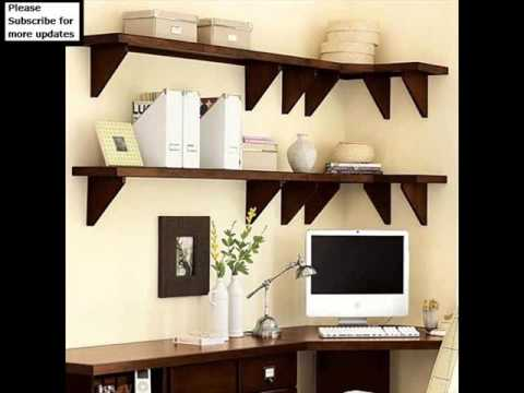 shelving home office |wall storage shelves collection - youtube