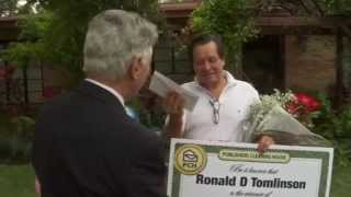 Publishers Clearing House $10,000 Winner Ronald Tomlinson