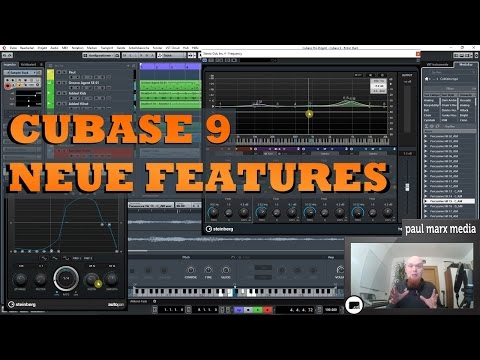 Cubase 9 Review - Neue Features in Cubase Elements, Artist und Pro (german)