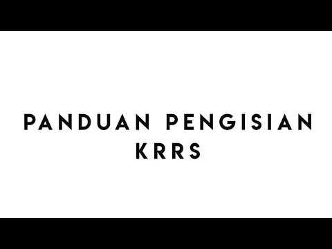 Panduan Pengisian KRRS