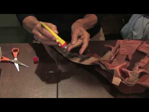 Tailoring & Clothing Alterations : How To Repair Torn Leather Clothing