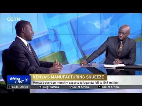 Kenya's exports and market share on a downward spiral