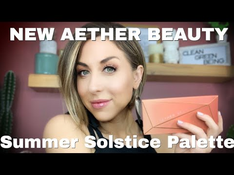 Aether Beauty Summer Solstice Palette Swatches & Review!