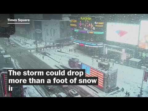 Biggest snowstorm of the season hits Northeast