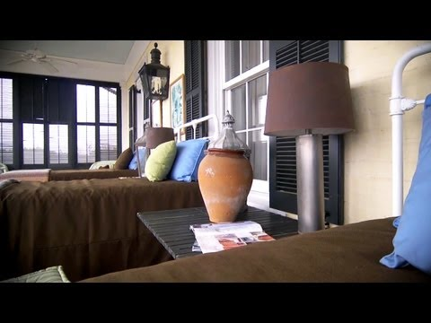 How to Paint Lampshades | At Home With P. Allen Smith