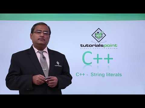 C++ - String Literals