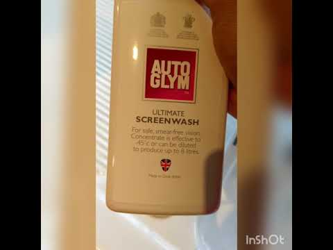 Auto Glym AutoGlym Ultimate Screenwash Product Review and Testing