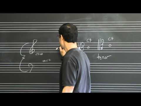 Lesson 02: Pitch Notation and Clefs