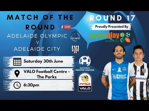 NPLSA Round 17 Adelaide Olympic vs Adelaide City