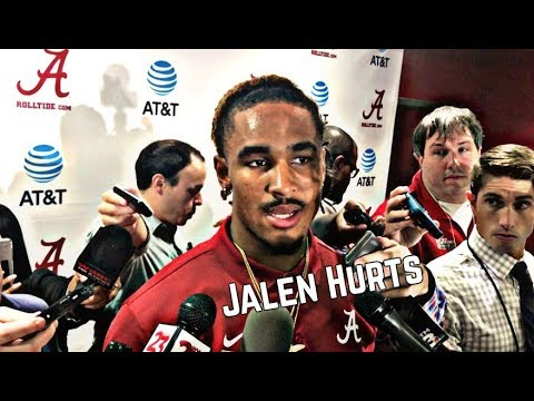 Jalen Hurts talks win over Colorado State
