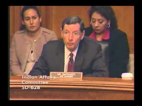 Barrasso Opening Statement and Questions to Affie Ellis at Senate Indian Affairs Committee Hearing