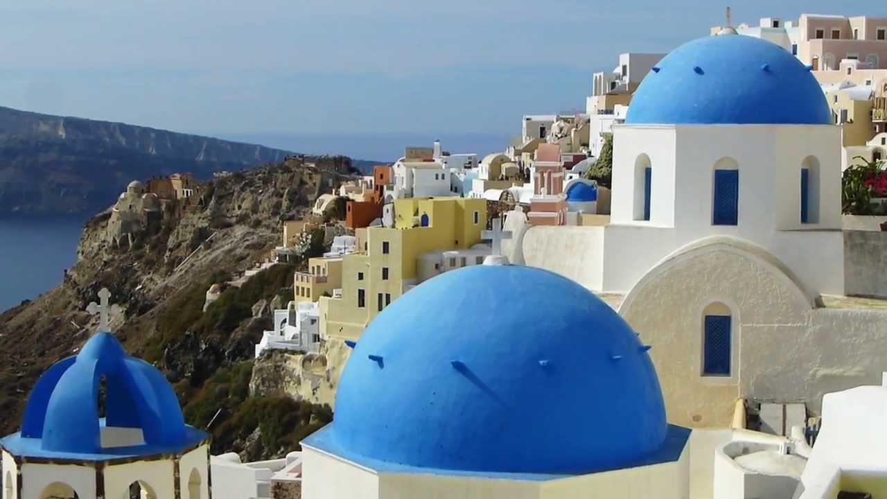 Liburan Di Greek Islands Yunani Santorini Amp Paros Youtube