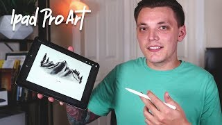 How I Learn To Draw Anything On IPad Pro! Artist Motivation