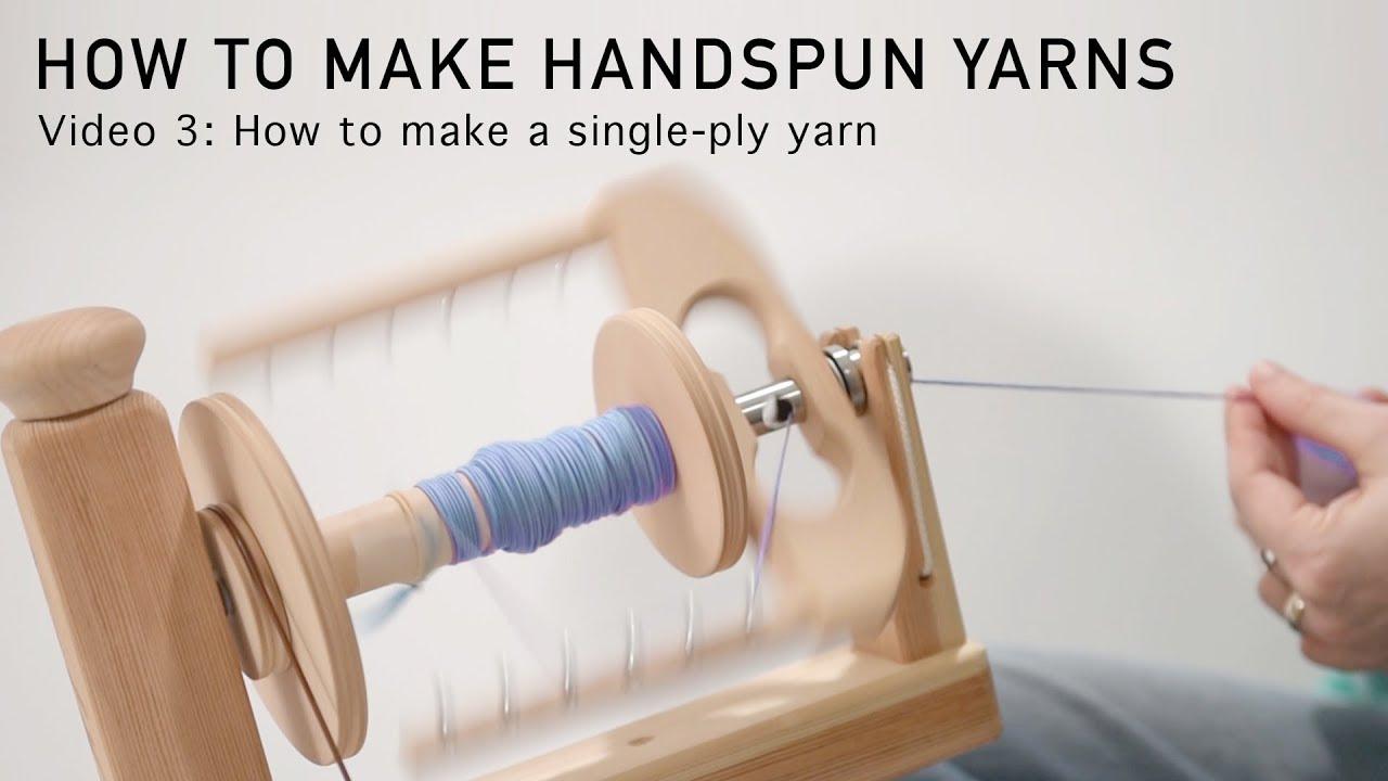 one ply yarn