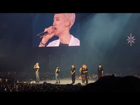 190728 ENGSUB EXO PLANET#5 EXplOration Ending Ment(Chanyeol Crying)