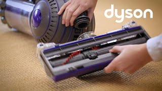 Dyson Ball Animal Upright vacuum - Checking cleaner head and base for blockages (NZ)