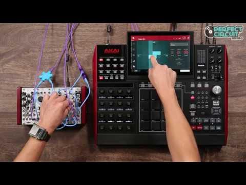 Akai MPC X Sampling & CV Sequencing Eurorack Modular